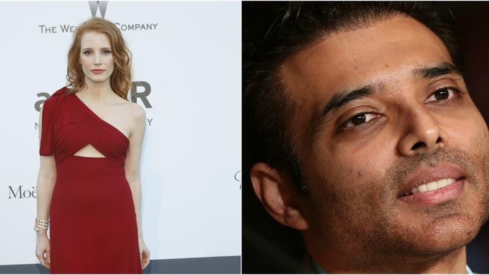 Actor Uday Chopra said that Jessica Chastain is the perfect actress to star in Seducing Ingrid Bergman.