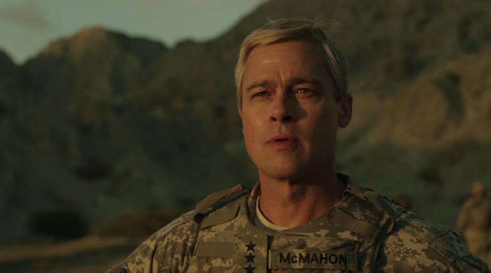 Ugh America: You can't win a war at gunpoint, says Brad Pitt's new Netflix-produced satire War Machine.