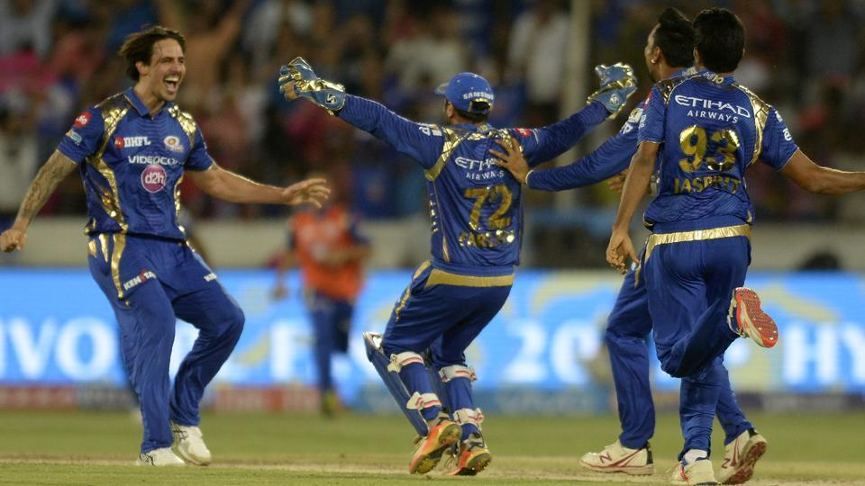 With 11 needed off 6 balls, Rising Pune Supergiant were cruising to victory with seven wickets in hand. In came Mitchell Johnson, who handed Mumbai Indians a 1-run win in the IPL 2017 final. (AFP)