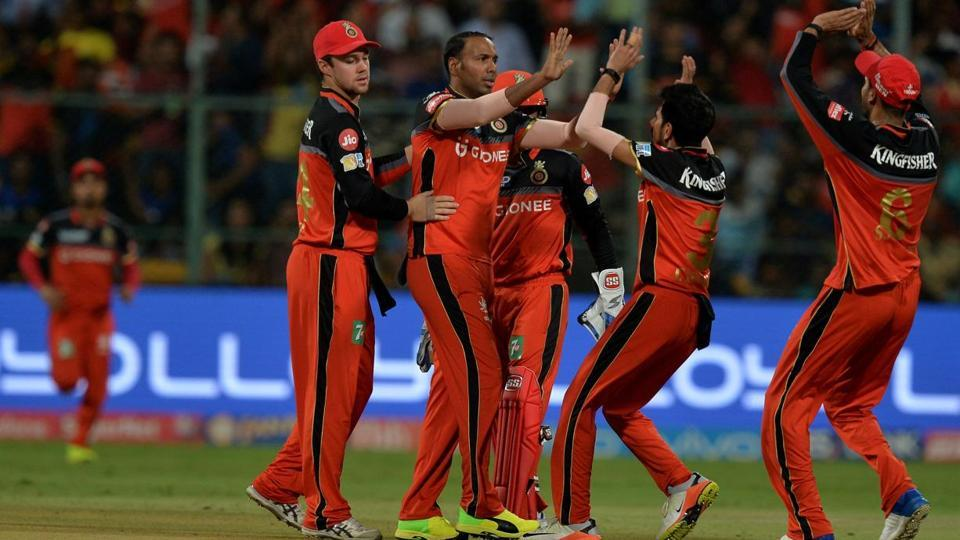 On April 14, a unique feat took place. Royal Challengers Bangalore spinner Samuel Badree took the first hat-trick of IPL 2017. Immediately in the next game, Gujarat Lions pacer Andrew Tye responded with not only a hat-trick but also the first five-wicket haul of the tournament. (AFP)