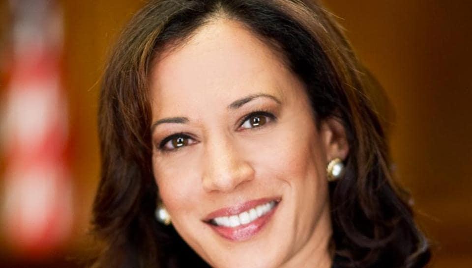 Potentially presidential: Congresswoman Kamala Harris.