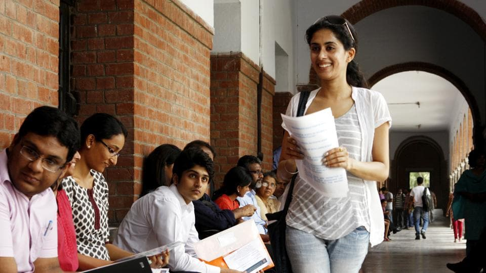 The college, which reserves 50% seats for Christians, conducts an aptitude test and an interview for applicants who meet the cut-off.