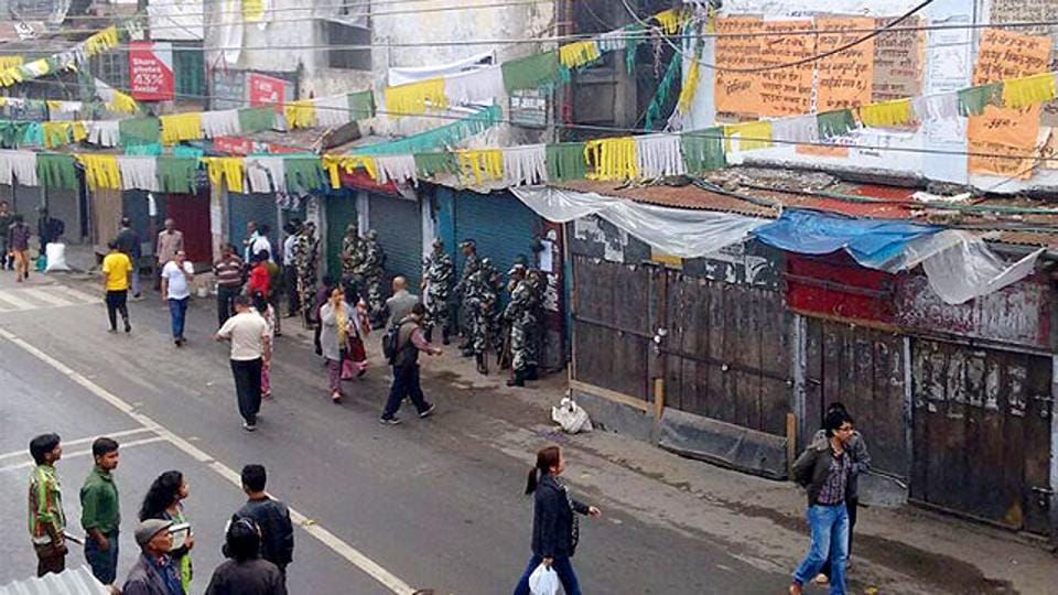 Darjeeling has witnessed frequent shutdowns over the years with the Gorkha National Liberation Front and GJM enforcing shutdowns in support of their demand for a separate state of Gorkhaland.