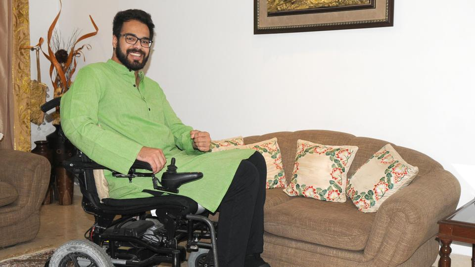 Simarpreet says persistence is his biggest strength and it not only helped him in getting over his disability but also in preparing for CAT.