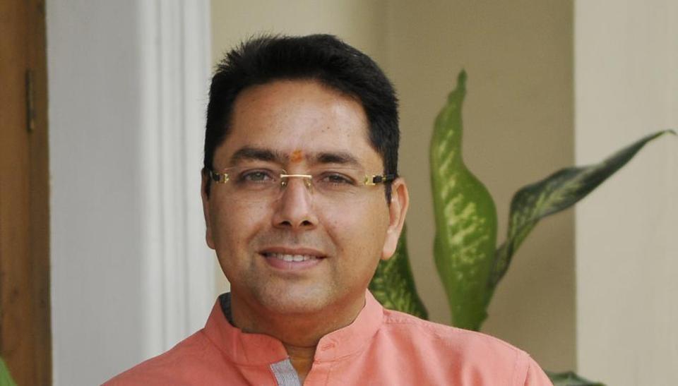AAP Punjab co-president Aman Arora.