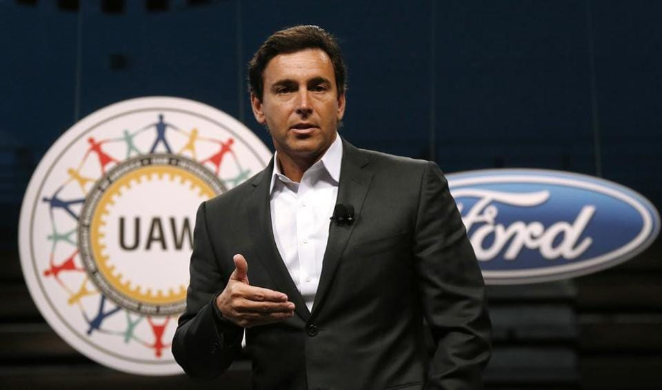 Ford replaces CEO in push to transform business