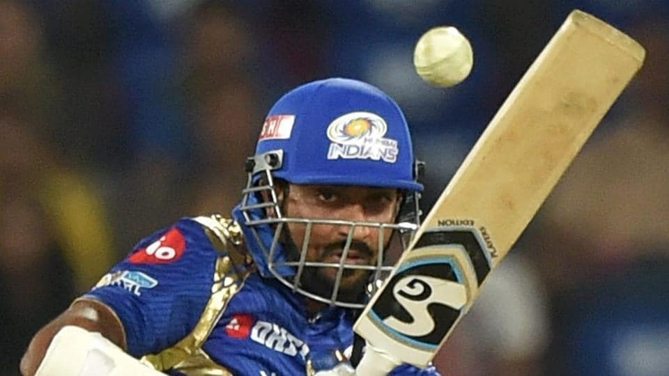 Krunal Pandya was the top scorer for Mumbai Indians with 47. (PTI)