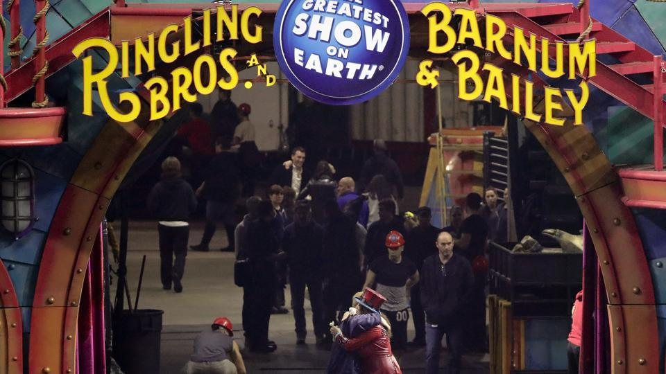 Greatest show on Earth,Circus,Animals in circus