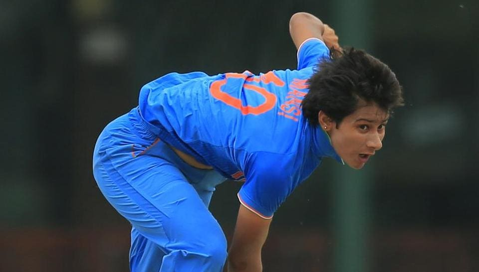 Mansi Joshi made her Women's One Day International cricket debut against Ireland in the 2017 Women's Cricket World Cup Qualifier on 10 February this year.
