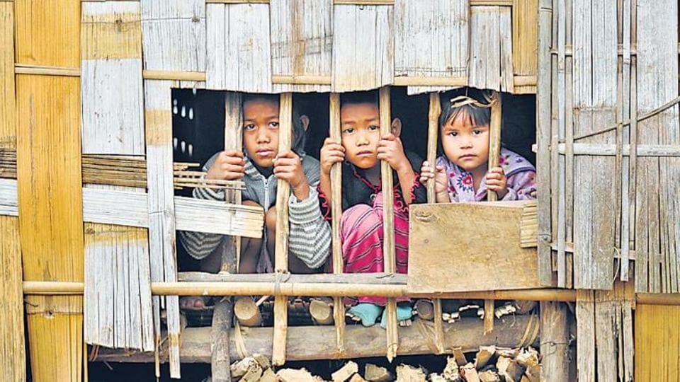Refugees,Myanmar,Mizoram