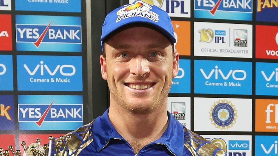 Jos Buttler couldn't control his excitement as Mumbai Indians clinched the IPL 2017 title.
