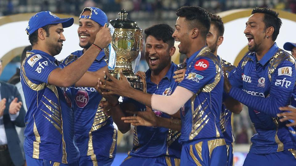 The celebrations continued on the field after the prize ceremony. (BCCI)
