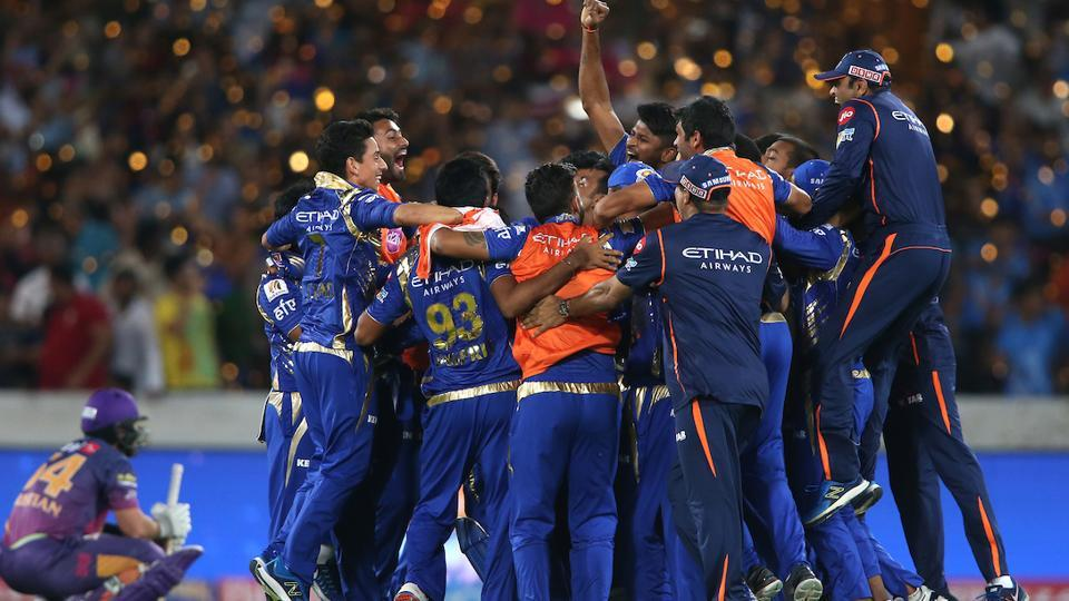 Rohit Sharma-led Mumbai Indians clinched their third Indian Premier League (IPL) title with a thrilling win over Rising Pune Supergiant at the Rajiv Gandhi International Stadium, Hyderabad.