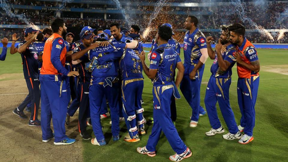 MI's final clash against Rising Pune Supergiant was one of the tightest IPL encounters this season, and players were visibly delirious after the win. (BCCI)