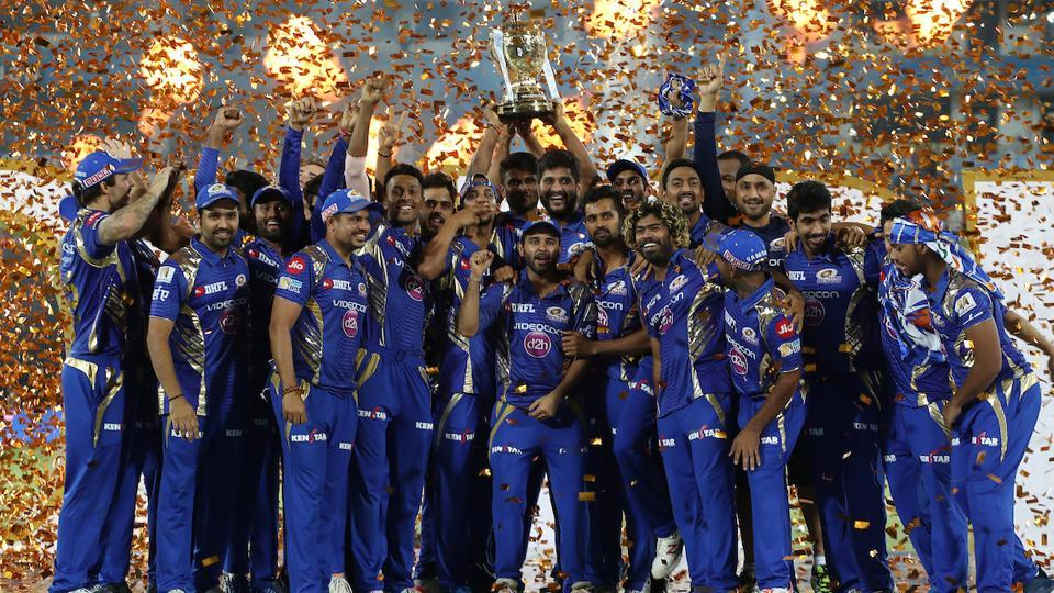 Mumbai Indians were crowned IPL 2017 champions by defeating Rising Pune Supergiant in the final at the Rajiv Gandhi International Cricket Stadium in Hyderabad on Sunday. (BCCI)