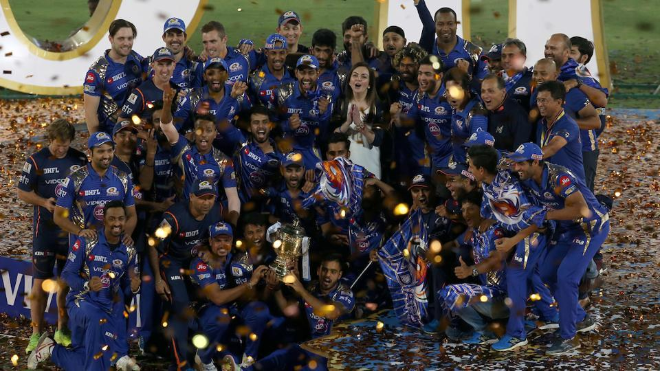 Mumbai Indians clinched record third IPL title with a one-run win over Rising Pune Supergiant at the Rajiv Gandhi International Stadium, Hyderabad.