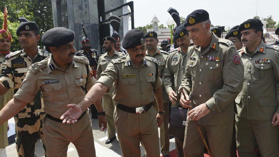 he BSF and the Pakistan Rangers onTuesday held a commander-level flag meeting at the International Border (IB) and expressed a commitment to each other to maintain peace and tranquility at the border.