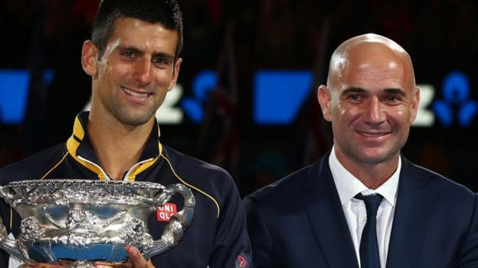 Novak Djokovic,Andre Agassi,French Open