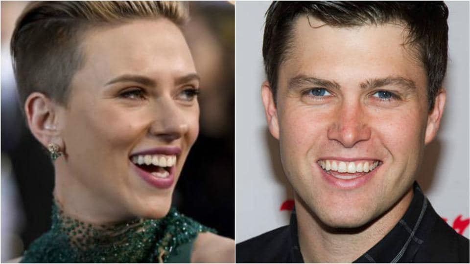 Scarlett Johansson hit it off with Jost at the afterparty held at the ice rink at Rockefeller Center.