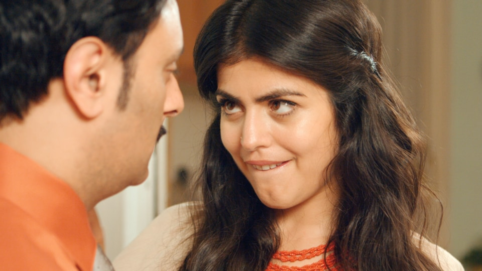 Shenaz Treasury in a still from Netflix's Brown Nation.