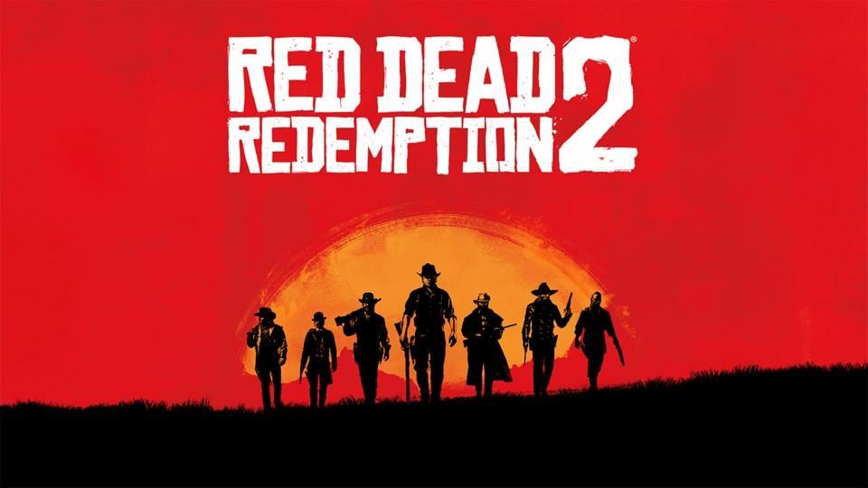 The poster for Rockstar game's Red Dead Redemption 2.