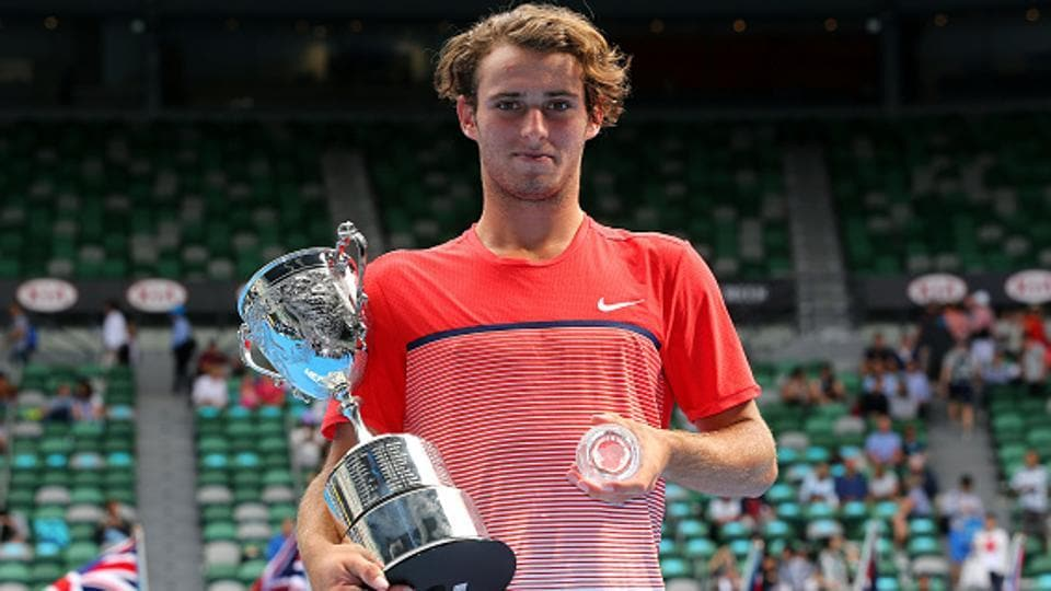 Oliver Anderson, former Australian Open junior champion, has pleaded guilty to a charge of corrupting the outcome of a sporting event.