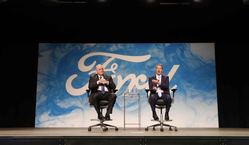 Ford,Mark Fields,Jim Hackett
