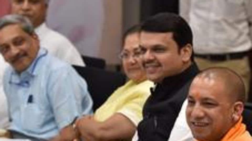 Modi govt,Three years of Modi govt,BJP CMs