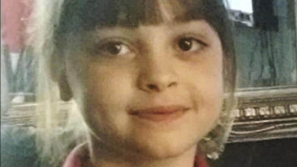 This undated photo obtained by the Press Association on Tuesday, May 23, 2017, of Saffie Roussos, one of the victims of an attack at Manchester Arena, in Manchester, England, which left more than a dozen dead on Monday.