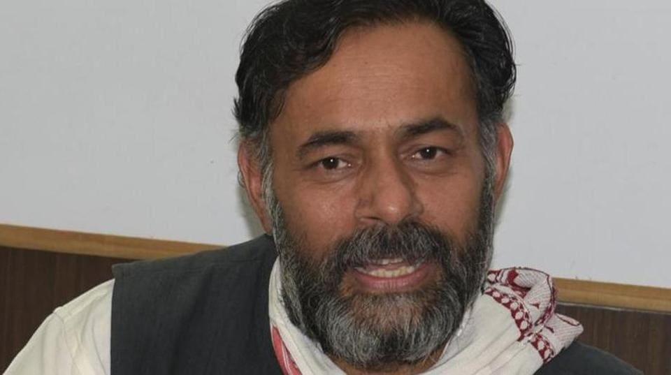 Yogendra Yadav,Arvind Kejriwal,Kapil Mishra