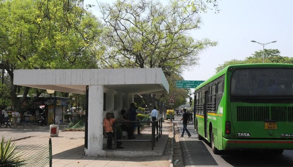 Chandigarh,Bus shelters