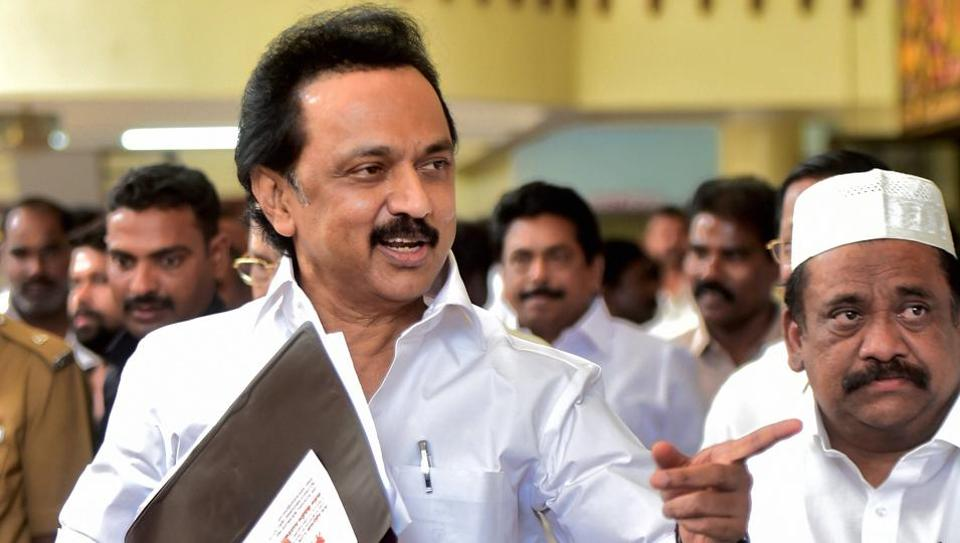 MK Stalin said the AIADMK government in Tamil Nadu is at the mercy of the BJP and Centre.