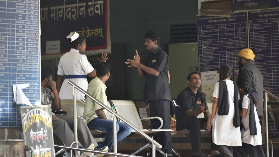 The Sion Hospital was closed when doctors went on a strike in Mumbai in March this year.