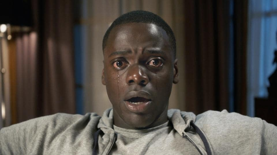 DANIEL KALUUYA as Chris Washington in Get Out. when a young African-American man visits his white girlfriend's family estate, he becomes ensnared in a more sinister real reason for the invitation.