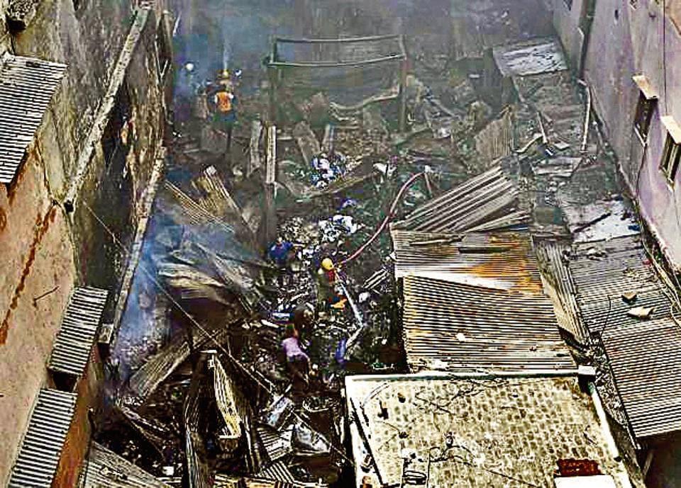 Chandni Chowk,Old Delhi fire,Shahjahabad