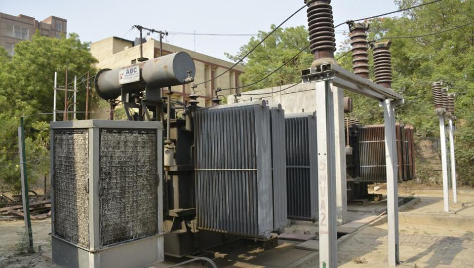 Twelve substations in  trans-Hindon areas have been provided with desert coolers, power discom officials said.
