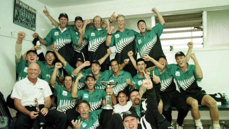 tephen Fleming led New Zealand cricket team to its only major title so far, beating India cricket team in the final of the 2000 ICC Knockout Tournament at the Gymkhana Ground, Nairobi, Kenya (Getty Images)