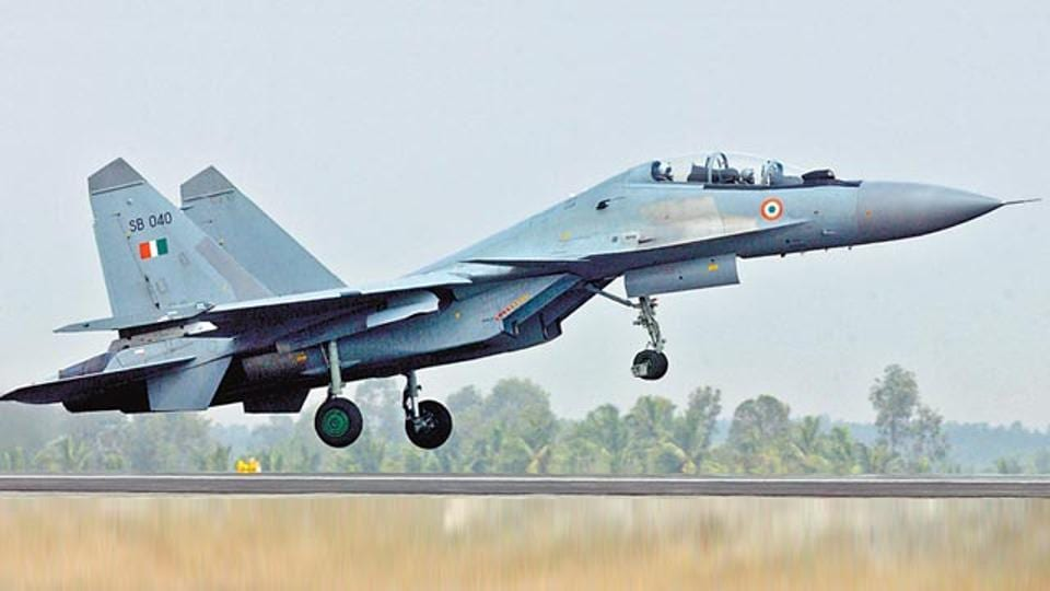 IAF's Sukhoi-30 Goes Missing Over Assam, Search Operation Underway