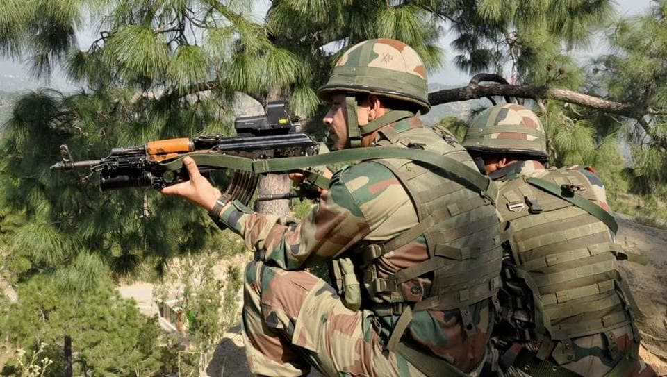 An encounter took place between securit forces and militans in Pulwama.
