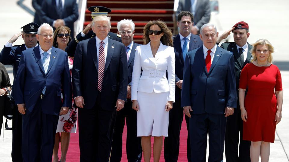 Melania Trump,Donald Trump,Israel