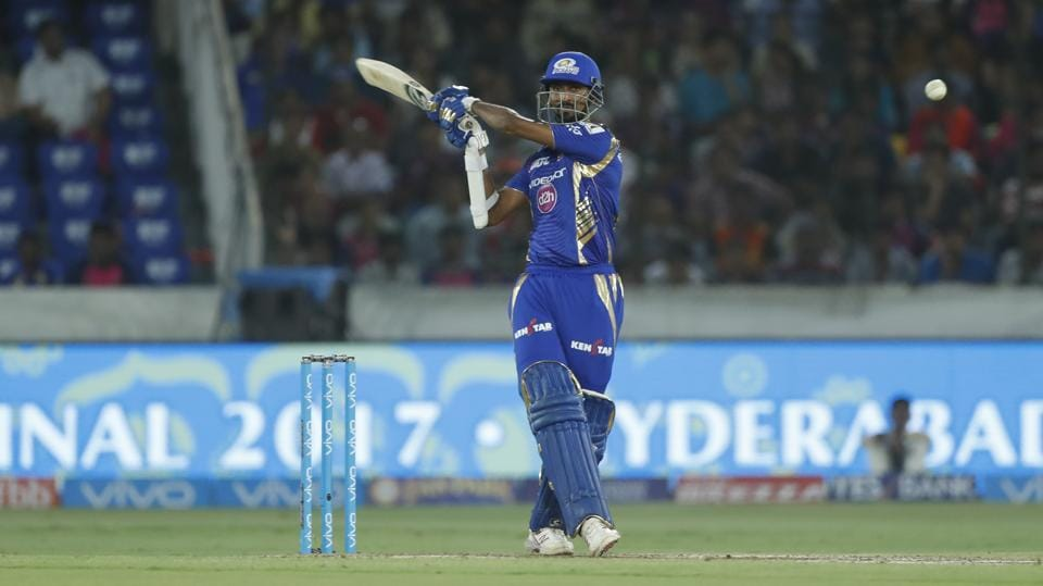 Mumbai Indians hit the most number of sixes among the eight teams in IPL 2017.