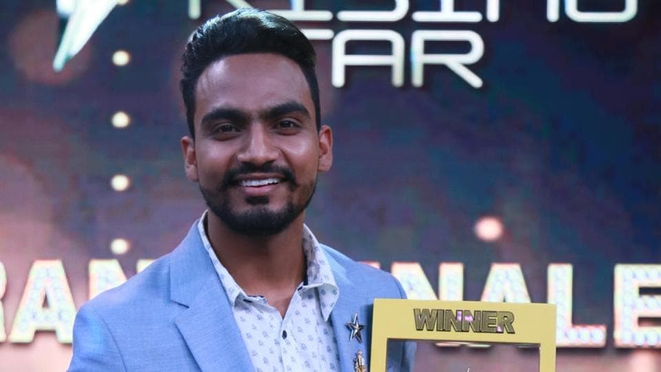 Bannet Dosanjh from a village near Jalandhar became the latest singing sensation of India when he won the Rising Star reality show this year. (HT Photo)