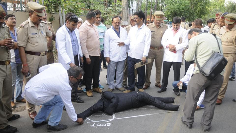 On May 20, the special investigation team with the help of forensic experts tried to reconstruct the sequence of events leading to the death of Karnataka-cadre IAS officer Anurag Tewari.