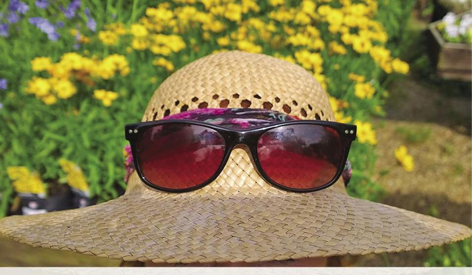 It's best to use a hat and also wear sunglasses while stepping out in the sun