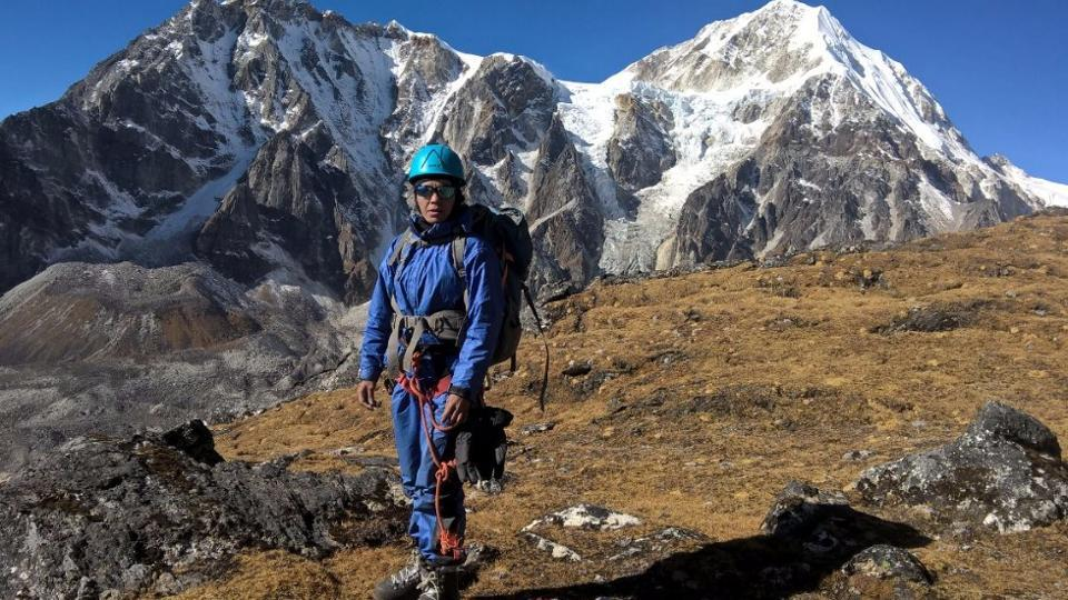 The 38-year-old mother of two from Rajasthan's Jhunjhunu climbed the world's highest peak on Monday, after overcoming a debilitating slipped disc to achieve a feat only a handful of diehard climbers have pulled off.