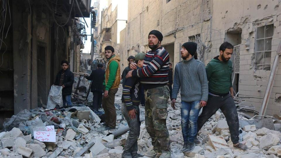 The strikes on Al-Baruda come after the Observatory reported the highest monthly civilian death toll for the coalition since it began bombing Syria on September 23, 2014.