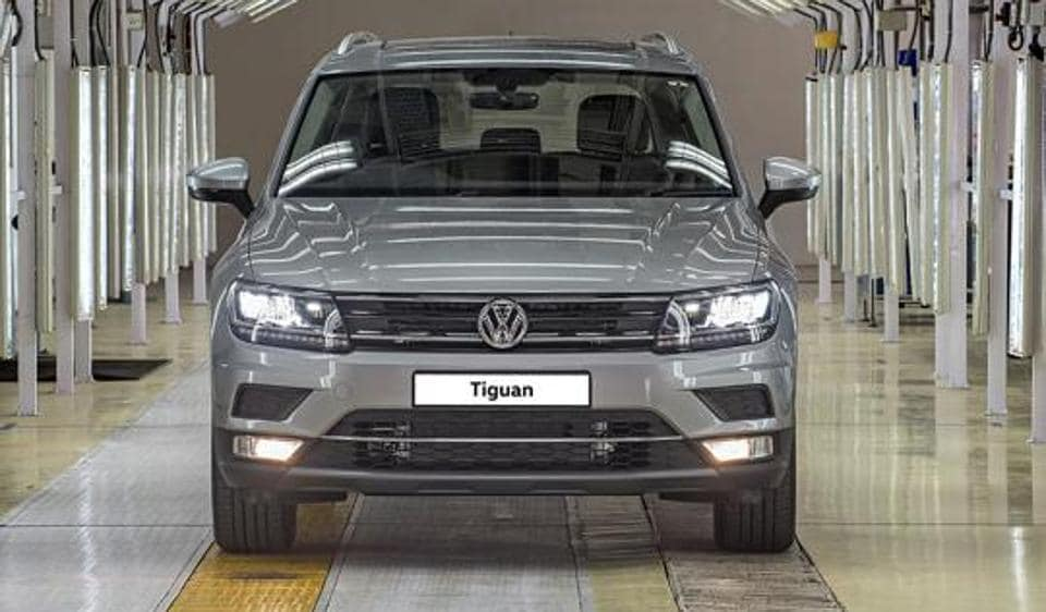 Tiguan is the first 'Made in India' SUVby the German automaker.
