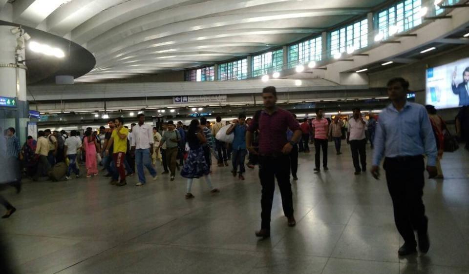 Delhi Metro,Rajiv Chowk,Central Secretariat