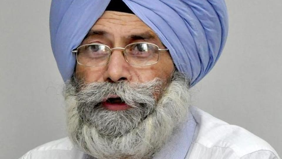 Leader of Opposition in Punjab assembly HS Phoolka