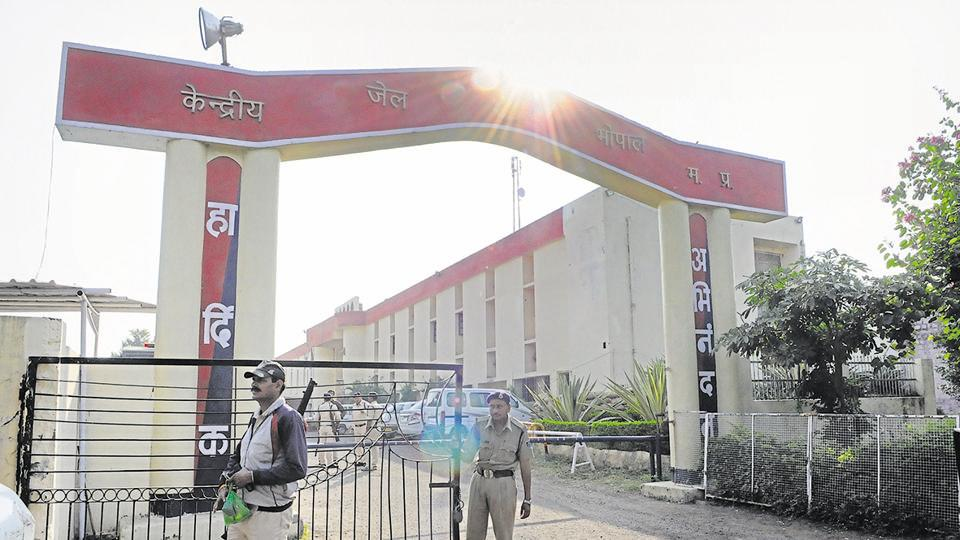 File photo of the Bhopal central jail where 21 suspected members of the banned Students Islamic Movement of India (SIMI) are being held.